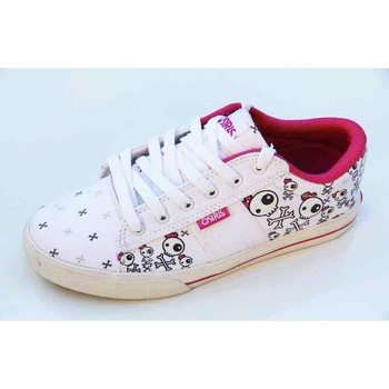 Chaussures Femme Baskets basses Osiris Baskets Femme Serve V White Becky Bones Blanc