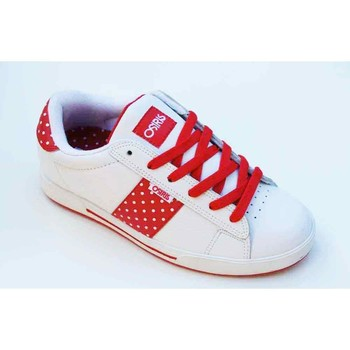 Chaussures Femme Baskets basses Osiris Serve White Lollipop Red Blanc