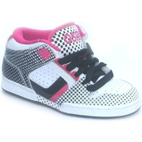Chaussures Garçon Baskets montantes Osiris South Bronx Girl White/Black/Faded Blanc