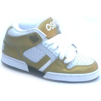 Chaussures Garçon Baskets montantes Osiris South Bronx Girl White/Gold Blanc