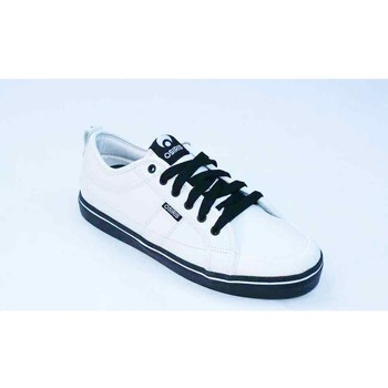 Chaussures Homme Baskets basses Osiris The 45 White Black Blanc