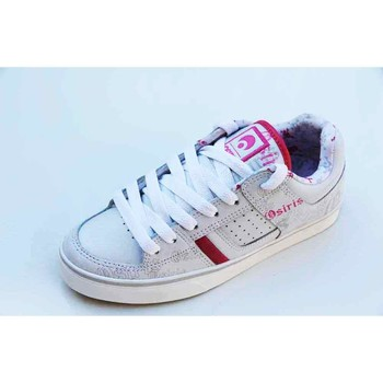 Chaussures Femme Baskets basses Osiris Tron White Goth Blanc