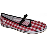 Chaussures Femme Ballerines / babies Osiris samples shoes BALLERINE COVE 1 RED WHITE WOMEN Rouge