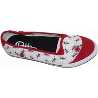 Chaussures Femme Ballerines / babies Osiris samples shoes BALLERINE cove 2 WHITE RED WOMEN Blanc