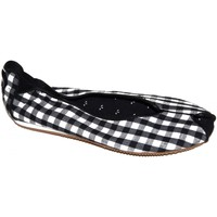 Chaussures Femme Ballerines / babies Osiris samples shoes BALLERINE LOVELY BLACK WHITE WOMEN Noir et Blanc