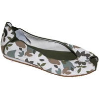 Chaussures Femme Ballerines / babies Osiris samples shoes BALLERINE LOVELY GREEN LEAF WOMEN Vert