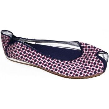Chaussures Femme Ballerines / babies Osiris samples shoes BALLERINE LOVELY NAVY DOTS WOMEN Bleu marine