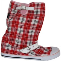 Baskets montantes Vision Street Wear samples shoes BOOTS  BOOTS RED WHITE BLACK