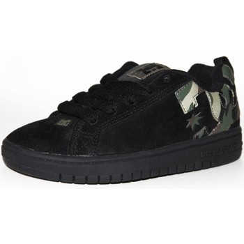 Chaussures Enfant Baskets basses DC Shoes samples shoes DC COURT GRAPHIK BLACK CAMO KIDS / ENFANTS Noir