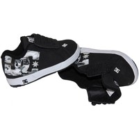 Chaussures Enfant Baskets basses DC Shoes chaussures enfants shoes DC COURT GRAPHIK sans lacets WHITE CRAZ Blanc