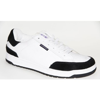 Chaussures Femme Baskets basses DC Shoes Baskets Femme samples shoes DC REGAL WHITE RED WOMEN Blanc
