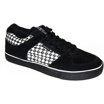 Chaussures Homme Baskets basses Draven samples shoes  ARGYLE BLACK WHITE MEN Noir et Blanc