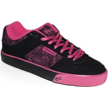 Chaussures Femme Baskets basses Draven samples shoes  CLICK SKATE BLACK PINK WOMEN Noir
