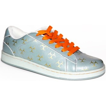 Chaussures Homme Baskets basses Draven samples shoes  KOZIK GREY ORANGE MEN Gris