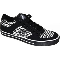 Chaussures Homme Baskets basses Draven samples shoes  LIME LIGHT BLACK WHITE MEN Noir et Blanc
