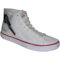 Chaussures Homme Baskets montantes Draven samples shoes  LIPSTICK GUN HI TOP WHITE WOMEN Blanc