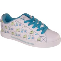 Chaussures Femme Baskets basses Draven samples shoes  POP CAT WHITE MULTI WOMEN Blanc