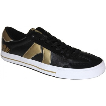 Chaussures Homme Baskets basses Draven samples shoes  SPARTA VULCANIZED BLACK GOLD MEN Noir