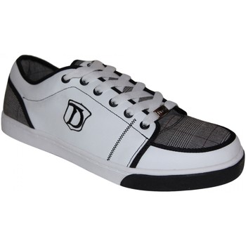 Chaussures Homme Baskets basses Draven Baskets Homme samples shoes  STRIPED WHITE GREY BLACK MEN Multicolore