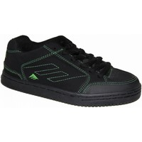 Chaussures Enfant Baskets basses Emerica samples shoes  HERETIC 2 BLACK GREEN BLACK KIDS / ENFANTS Multicolore