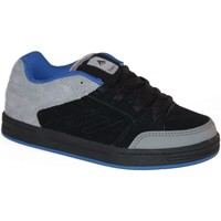Baskets basses Emerica samples shoes  HERETIC 3 BLACK GREY BLACK KIDS / ENFA