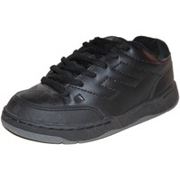 Baskets basses Emerica samples shoes  HERETIC BLACK CHARCOAL KIDS / ENFANTS