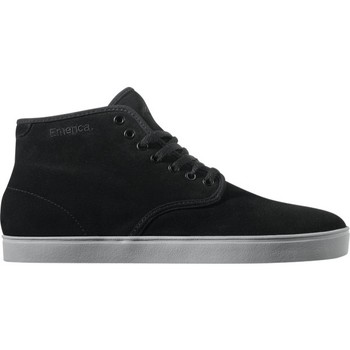 Chaussures Homme Baskets montantes Emerica samples shoes  HIGH LACED BLACK GREY MEN Noir