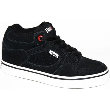Chaussures Homme Baskets montantes Emerica samples shoes  HSU BLACK WHITE KIDS / ENFANTS Noir et Blanc