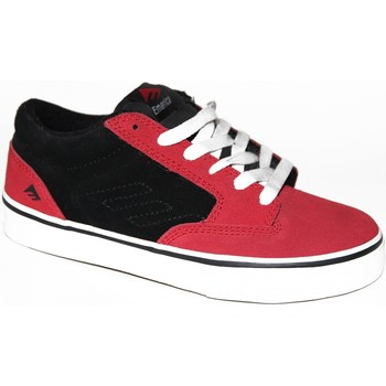Chaussures Enfant Baskets basses Emerica samples shoes  JINX RED BLACK KIDS / ENFANTS Rouge