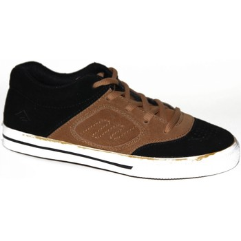 Chaussures Enfant Baskets basses Emerica samples shoes  REYNOLDS 3 BLACK BRONZE KIDS / ENFANTS Noir