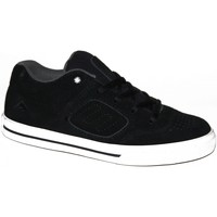 Baskets basses Emerica samples shoes  REYNOLDS 3 BLACK WHITE GREY KIDS / ENF