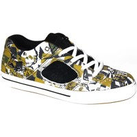 Baskets basses Emerica samples shoes  REYNOLDS 3 BLACK YELLOW PRINT KIDS / E