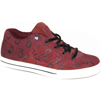 Baskets basses Emerica samples shoes  REYNOLDS 3 MAROON BLACK WHITE KIDS / E