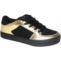 Baskets basses Emerica samples shoes  THE MOB BLACK GOLD KIDS / ENFANTS