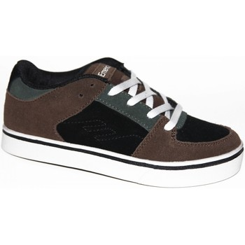 Chaussures Enfant Baskets basses Emerica samples shoes  THE MOB BROWN BLACK GREY KIDS / ENFANTS Multicolore