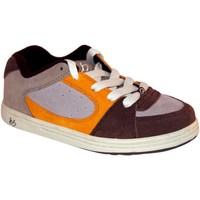 Chaussures Enfant Baskets basses Es samples shoes  ACCEL BROWN ORANGE KIDS / ENFANTS Marron