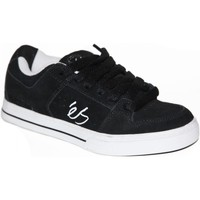 Chaussures Enfant Baskets basses Es samples shoes  CESSNA BLACK WHITE KIDS / ENFANTS Noir et Blanc