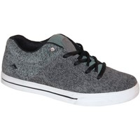 Chaussures Garçon Baskets basses Es samples shoes  REYNOLDS 3 BLACK GREY GREY KIDS / ENFANTS Noir