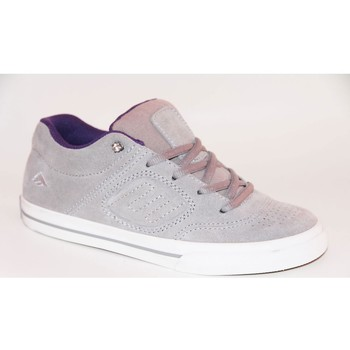 Chaussures Enfant Baskets basses Es samples shoes  REYNOLDS GREY PURPLE KIDS / ENFANTS Gris