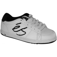 Chaussures Garçon Baskets basses Es samples shoes  SHELTON WHITE BLACK WHITE KIDS / ENFANTS Multicolore
