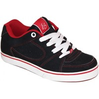 Chaussures Garçon Baskets basses Es samples shoes  SQUARE ONE BLACK BLACK RED KIDS / ENFANTS Noir