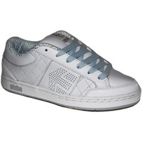 Baskets basses Etnies samples shoes  ALPHA WHITE LITE GREY BLUE WOMEN