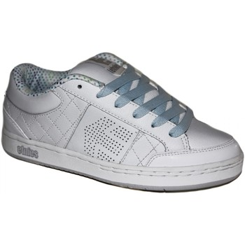 Chaussures Fille Baskets basses Etnies samples shoes  ALPHA WHITE LITE GREY BLUE WOMEN Multicolore