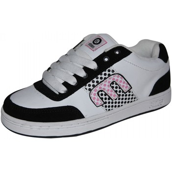 Baskets basses Etnies samples shoes  AMP WHITE BLACK PINK WOMEN