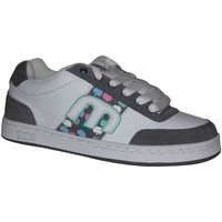 Baskets basses Etnies samples shoes  AMP WHITE GREY WOMEN