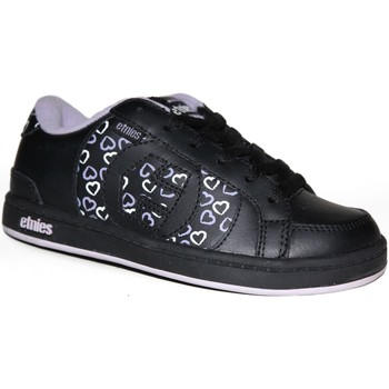 Chaussures Garçon Baskets basses Etnies samples shoes  CAPITAL BLACK EARTH KIDS / ENFANTS Noir