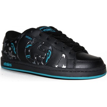 Baskets basses Etnies samples shoes  CAPITAL BLACK GREY BLUE KIDS / ENFANTS
