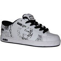 Baskets basses Etnies samples shoes  CAPITAL WHITE BLACK PRINT KIDS / ENFANT