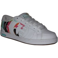 Chaussures Garçon Baskets basses Etnies samples shoes  CAPITAL WHITE BLUE GREEN KIDS / ENFANTS Multicolore