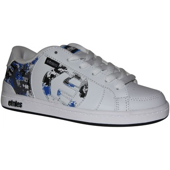 Baskets basses Etnies samples shoes  CAPITAL WHITE GREY BLUE KIDS / ENFANTS